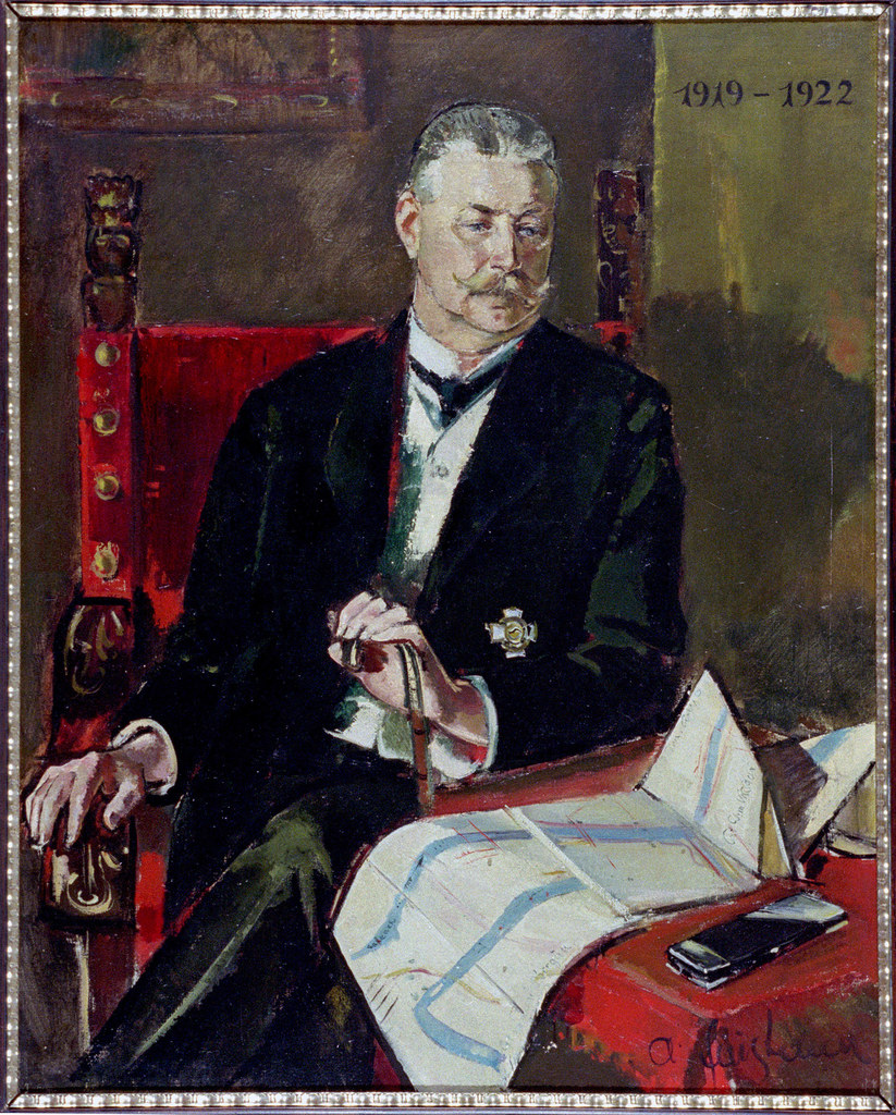 Mit Oskar Meyer war ein gebürtiger Südtiroler ab 1919 Salzburger Landeshauptmann..