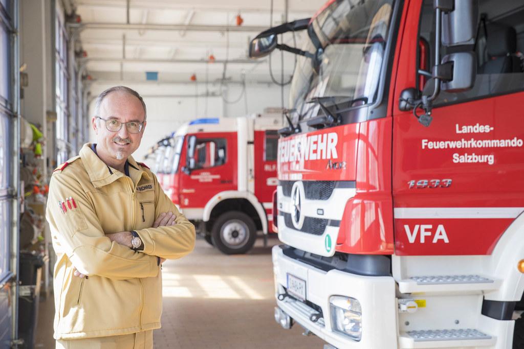 Markus Kronreif leitete das österreichische Kontingent bei der internationalen W..