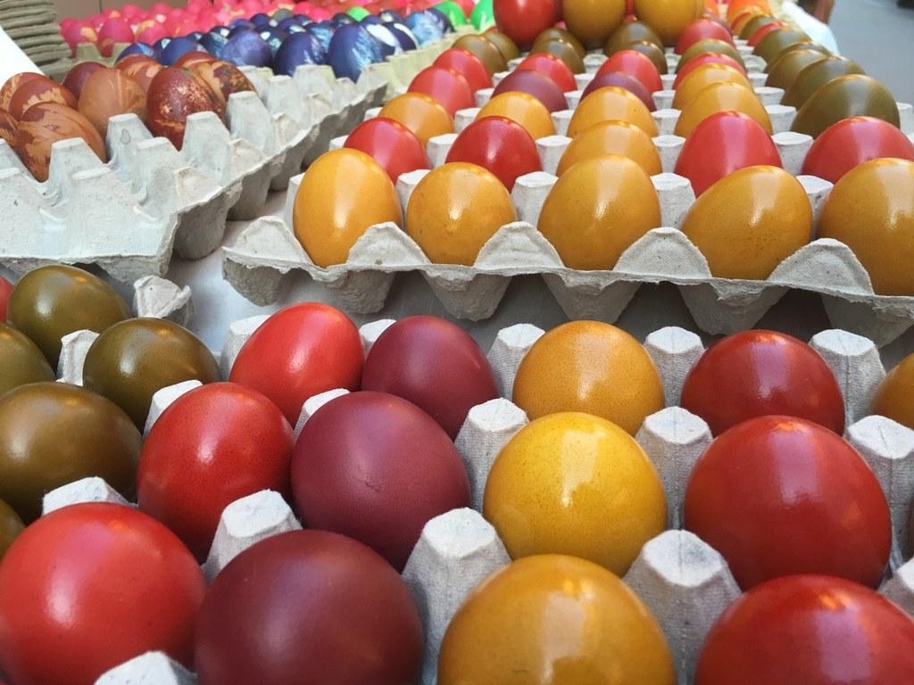 Eier aus Salzburg, wie jene heute auf der Oster-Schranne, erfüllen hohe Qualität..