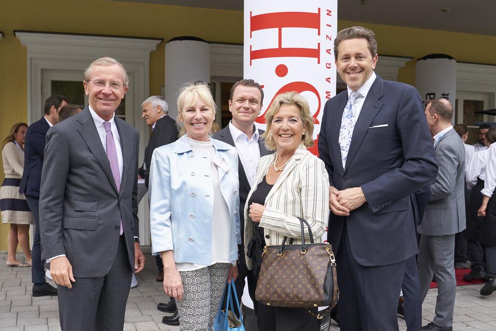 Eröffnung des 34. CASH Handelsforums, im Bild: LH Wilfried Haslauer, Silvia Meiß..