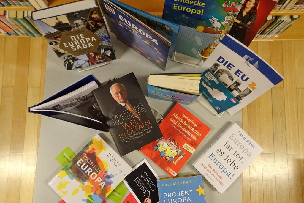 Salzburgs Bibliotheken bieten im Mai ein breites Spektrum an EU-Info und Veranst..