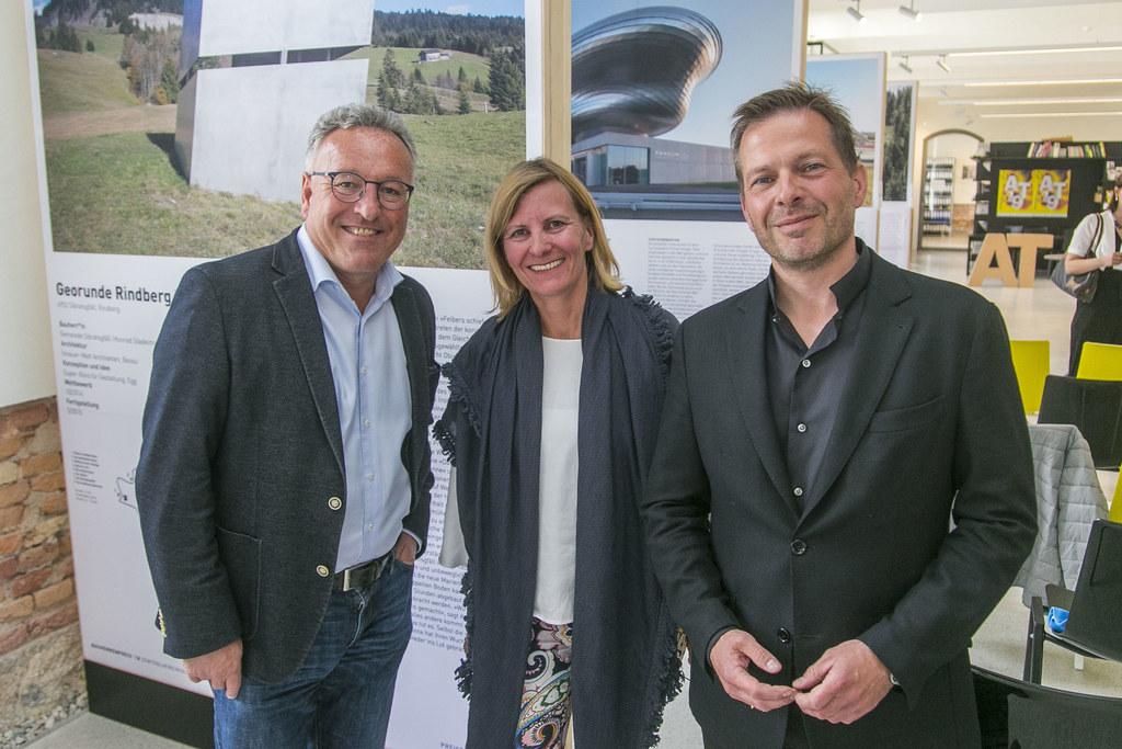 LH-Stv. Heinrich Schellhorn, GF Sandra Woglar-Meyer und Obmann Andreas Gfrerer (..