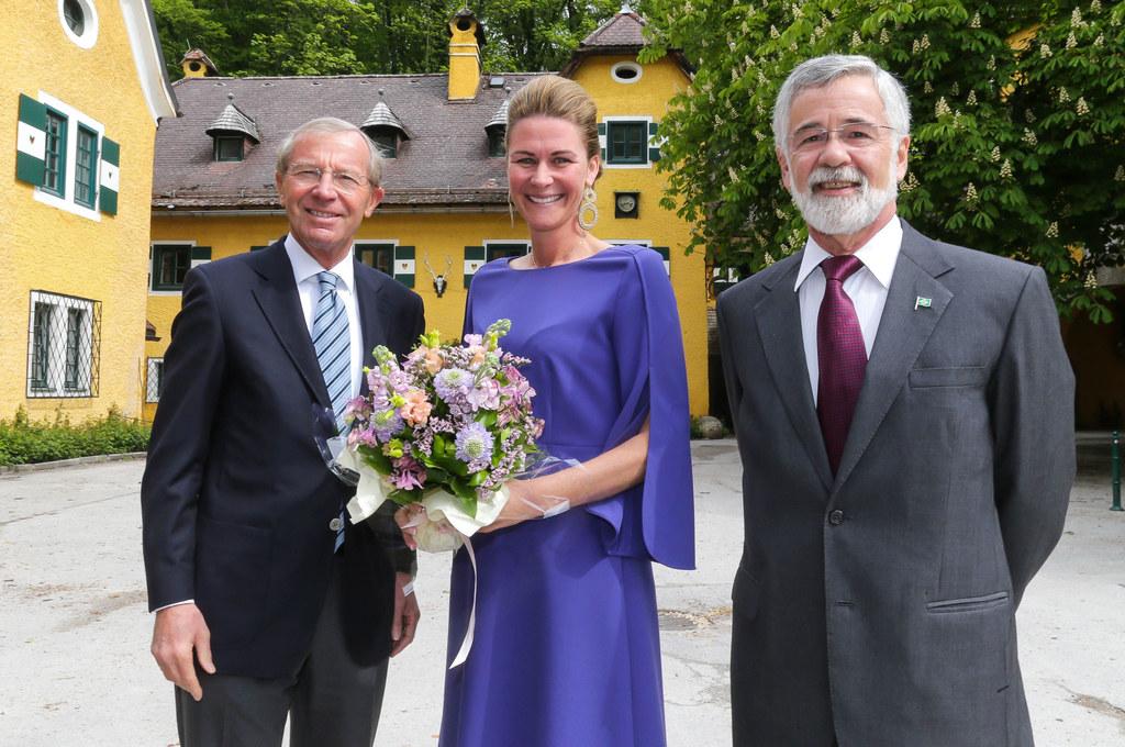 Eröffnung des neuen Generalkonsulates von Brasilien in Grödig, im Bild: LH Wilfr..