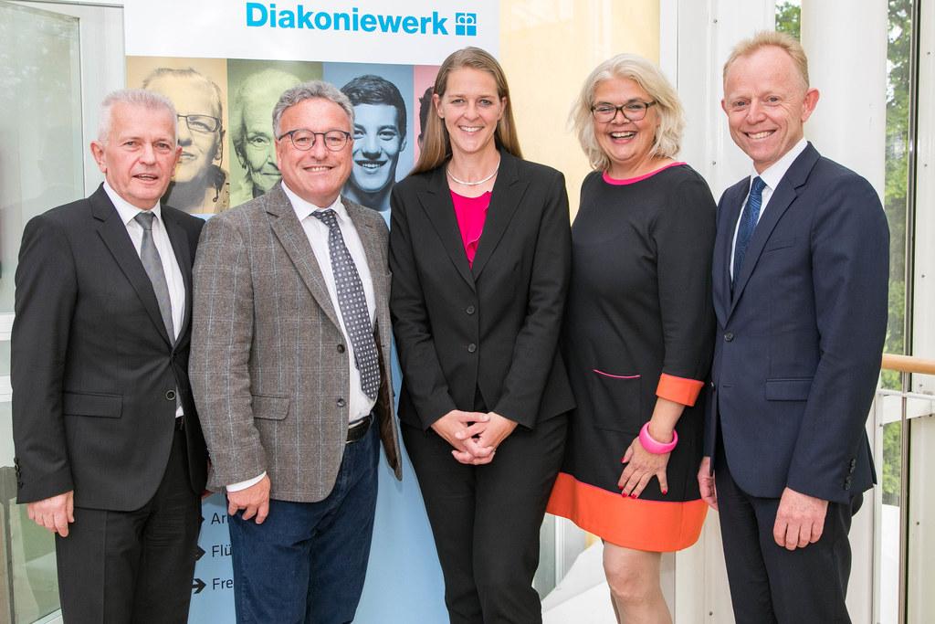 25 Jahre Diakoniewerk Salzburg, im Bild: Josef Scharinger (Vorstandsvorsitzender..