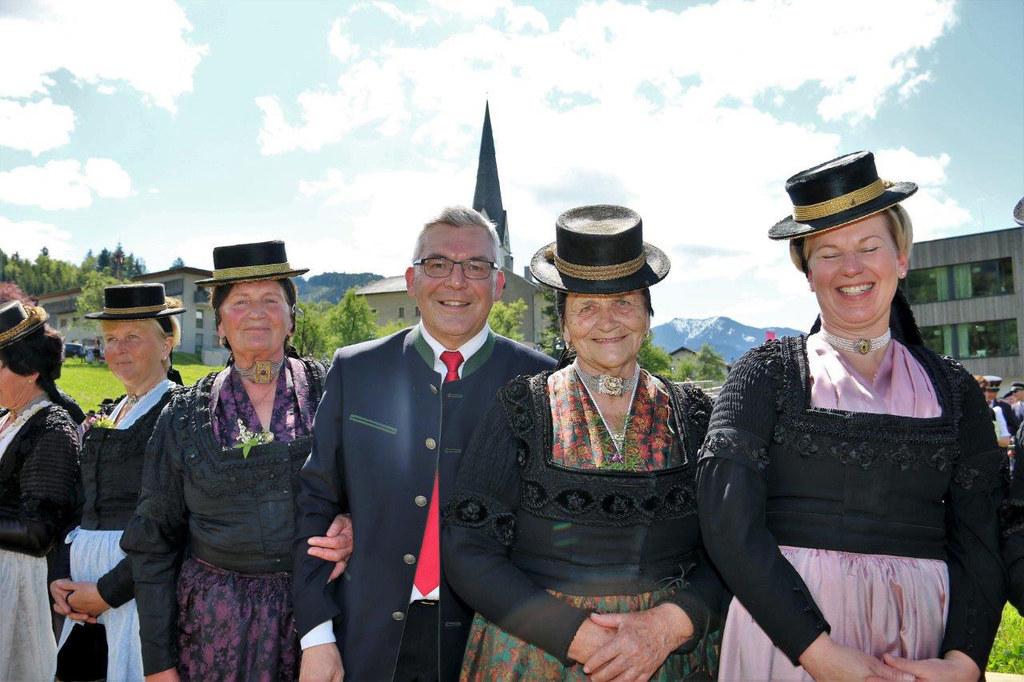 Landesrat Josef Schwaiger bei der 120-Jahre-Feier der Trachtenmusikkapelle Pfarr..