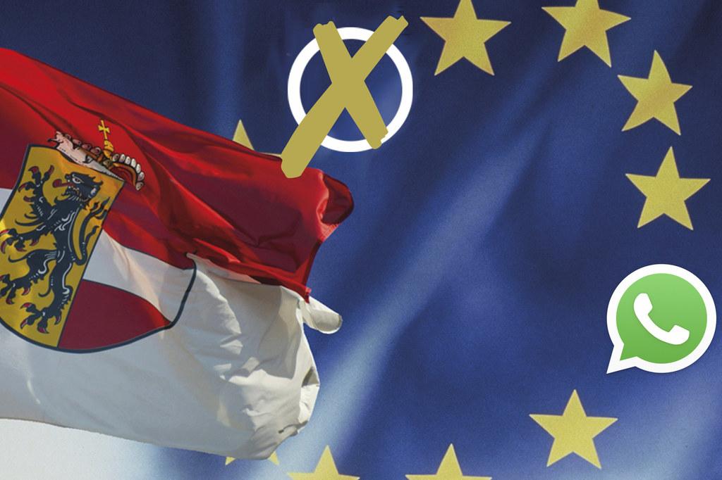 Neuigkeiten zur EU-Wahl kommen bequem direkt aufs Smartphone.