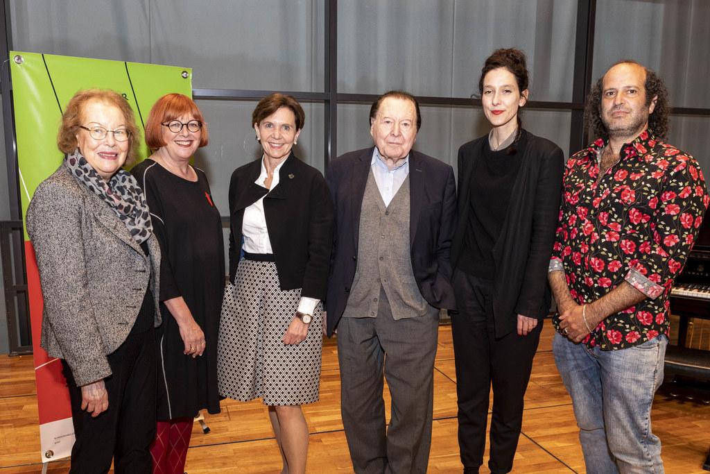 Monika Lichtenfeld, Christa Gürtler, LTP Brigitta Pallauf, Gerhard Rühm, Ariane ..