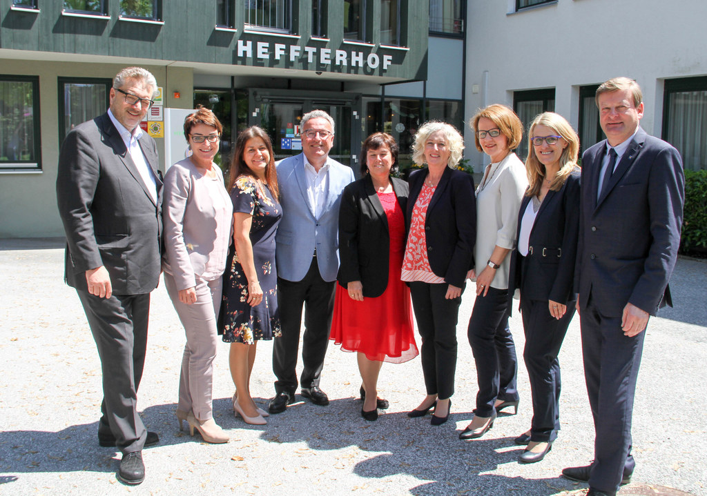 Konferenz der Sozialreferenten in Salzburg, Gastgeber LH-Stv. Heinrich Schellhor..
