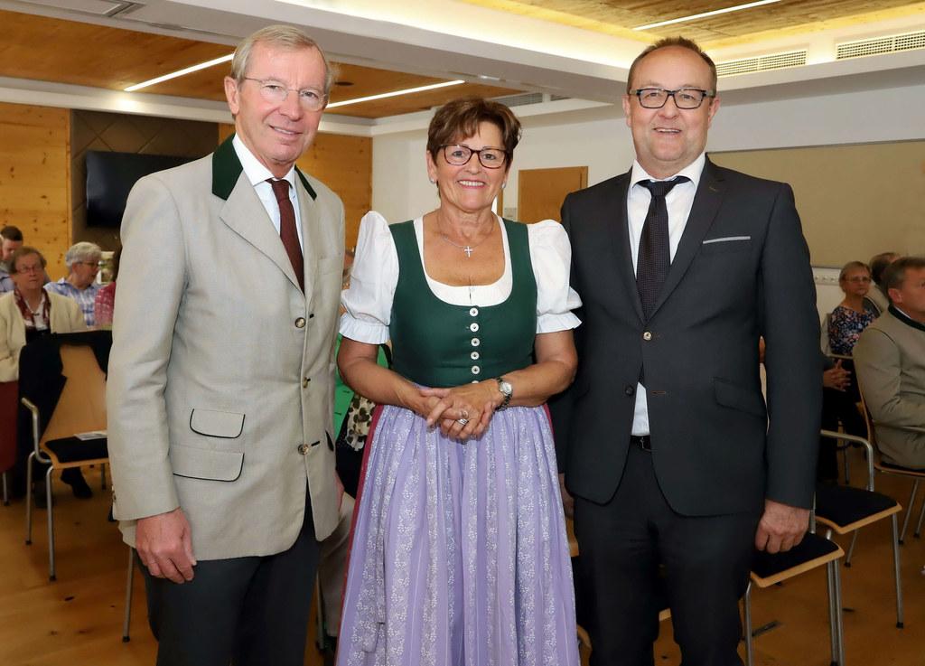 40 Jahre Privatzimmervermieter Salzburg: LH Wilfried Haslauer, Ilse Haitzmann, O..
