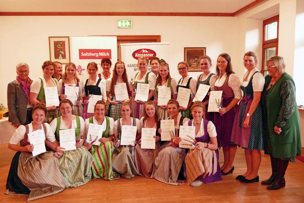 In der LFS Bruck werden die neuen Diplomierten Käsekenner ausgebildet.