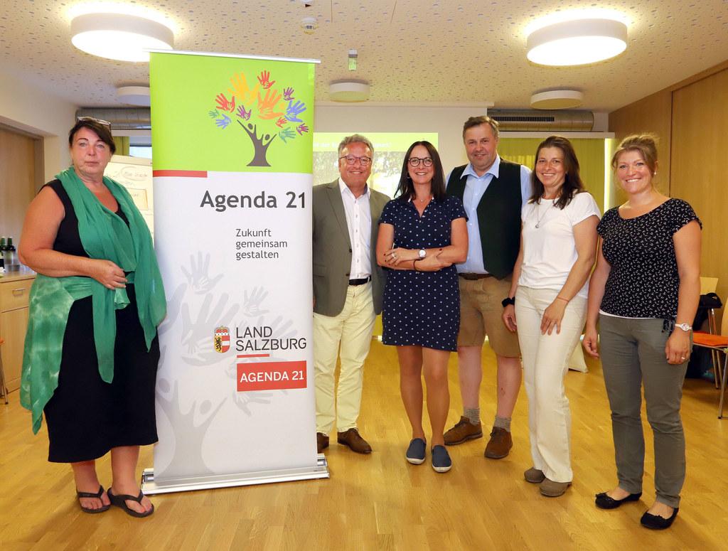 """Agenda-21-Netzwerktreffen in Leogang: Christa Wimmer, Obfrau des Vereins """"Hofer .."""