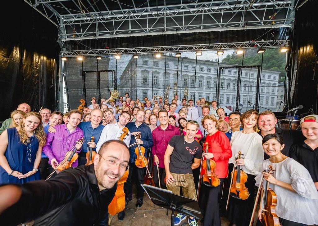 """Das Mozarteumorchester spielt sein alljährliches """"Konzert für Jedermann"""" heuer f.."""