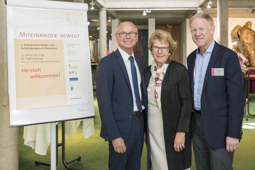 Hospiz-Palliativkongress in Salzburg; im Bild: LH-Stv. Christian Stöckl, Waltrau..
