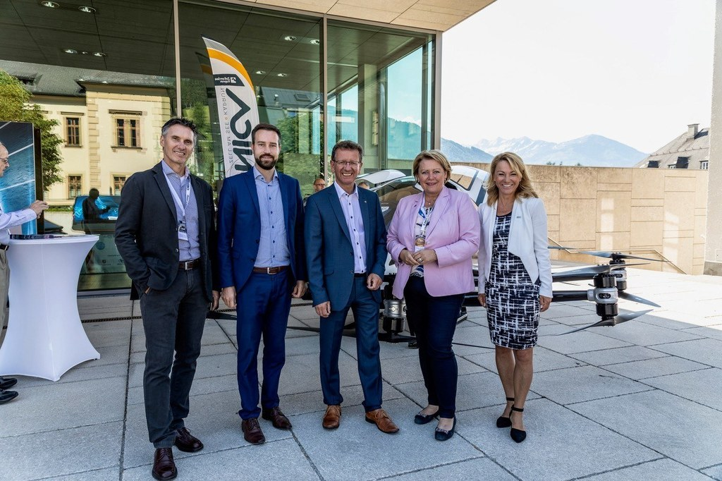 LR Stefan Schnöll eröffnete heute das 2. World Mobility Forum in Zell am See.