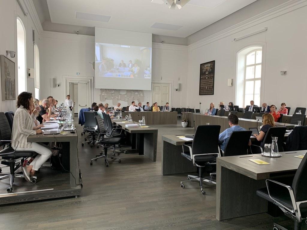 Vier Tagesordnungspunkte wurden heute in den Ausschüssen behandelt.