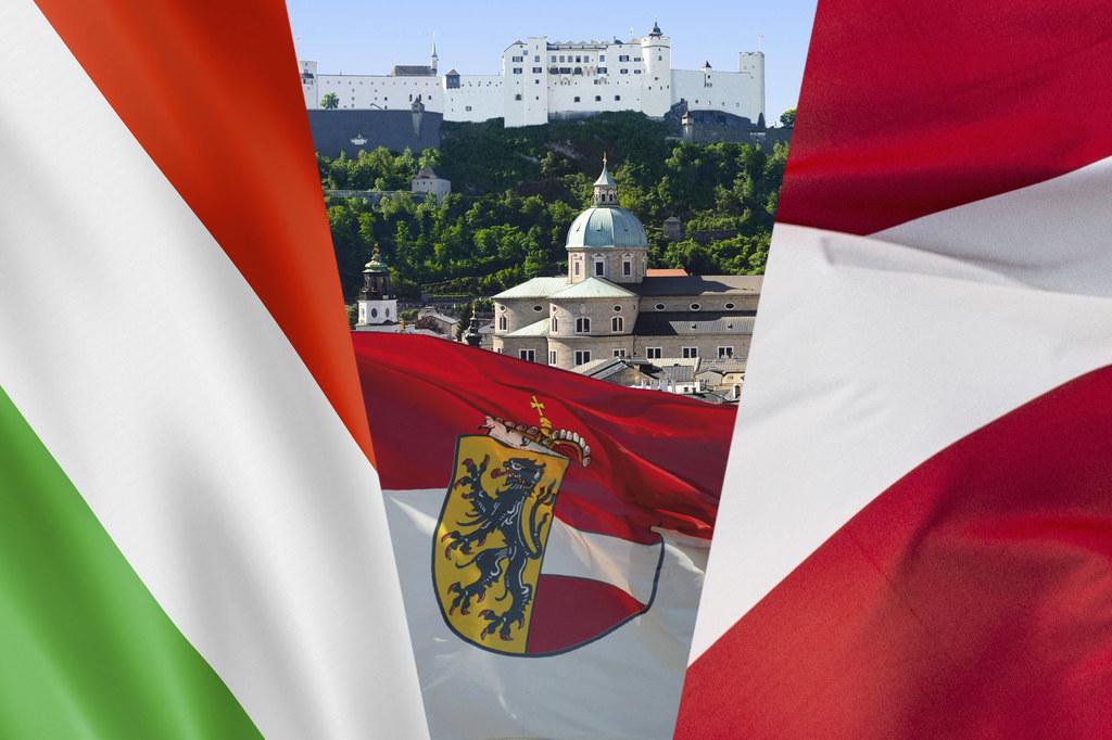 Österreich trifft Italien in Salzburg.