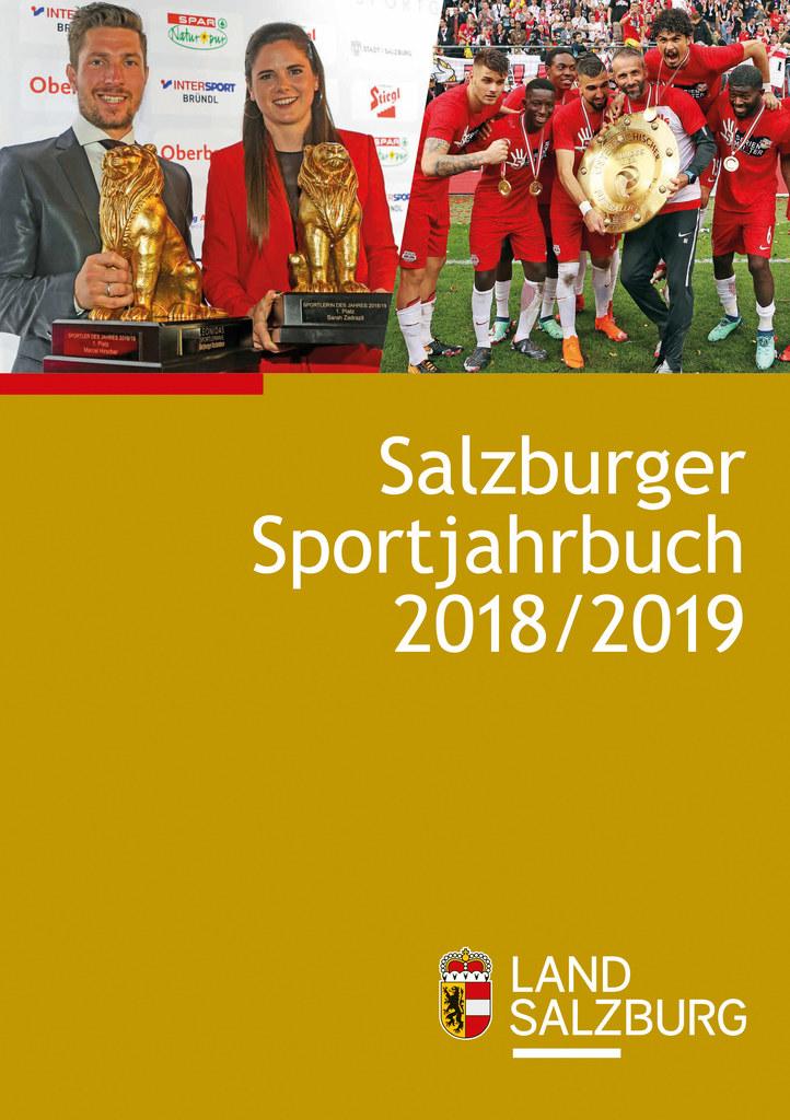 Das Salzburger Sportjahrbuch 2018/2019 ist erschienen.