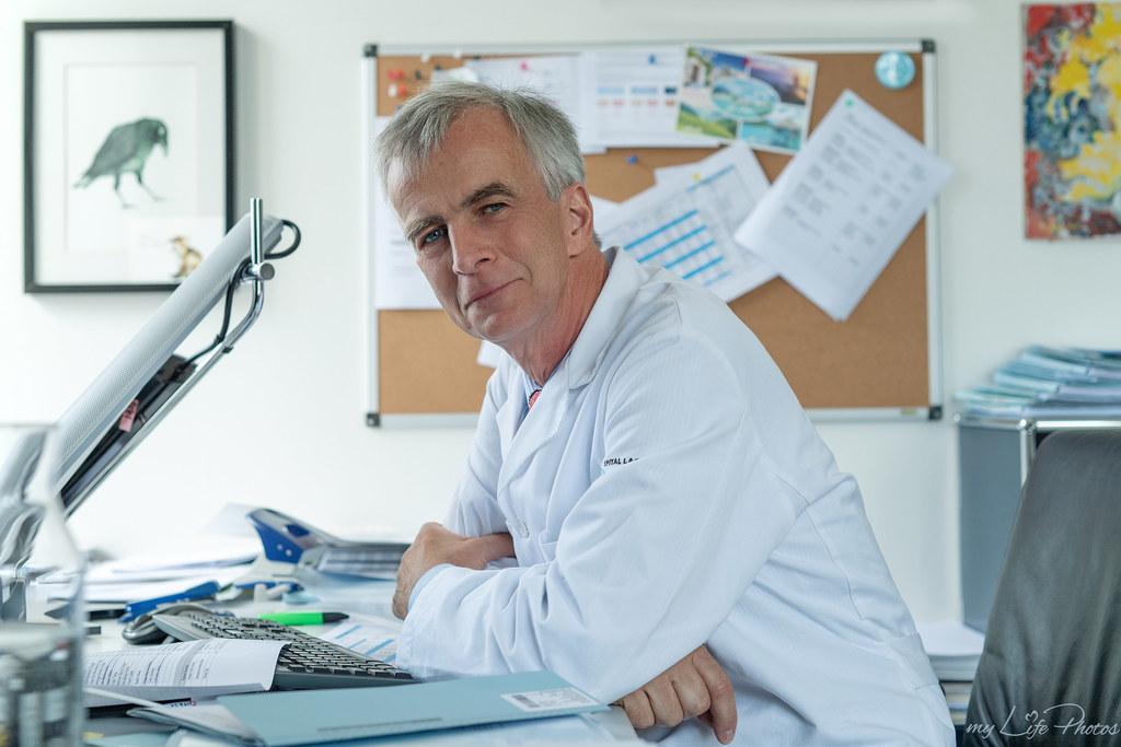 Ulrich Steinhart ist der neue Leiter der Abteilung für Gynäkologie und Geburtshi..