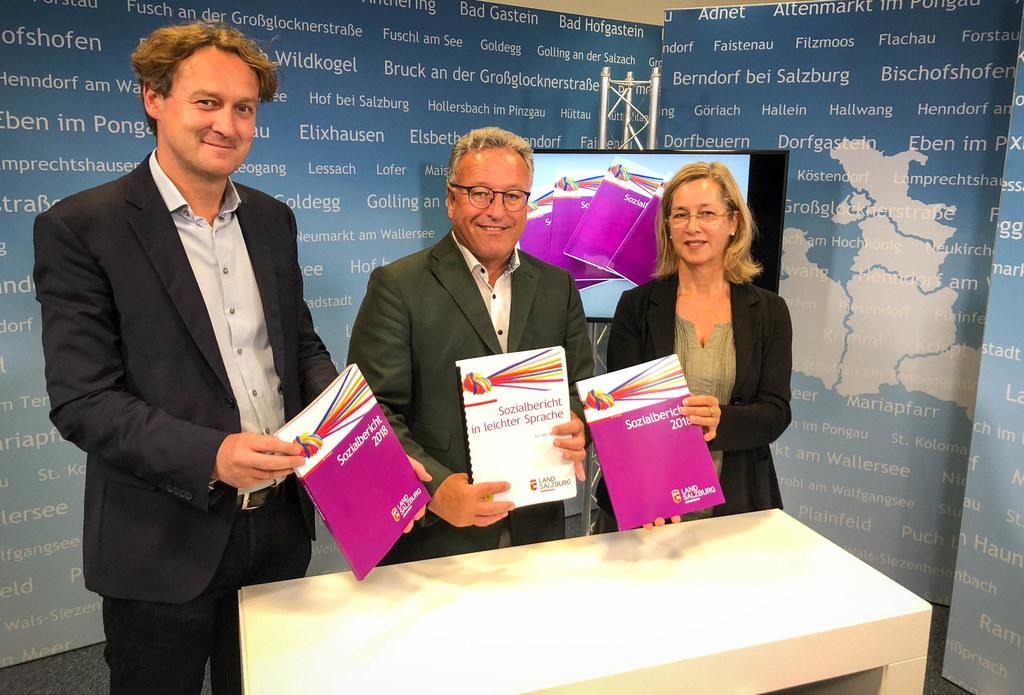 Vorstellung des Sozialberichts 2018, im Bild: Abteilungsleiter Andreas Eichhorn,..