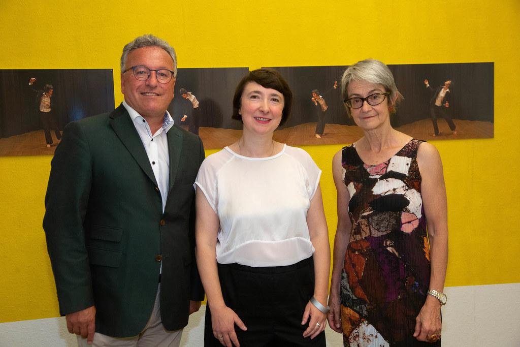 Die Ausstellung von Isa Rosenberger (Mitte) ist bis Dezember auf der Festung zu ..