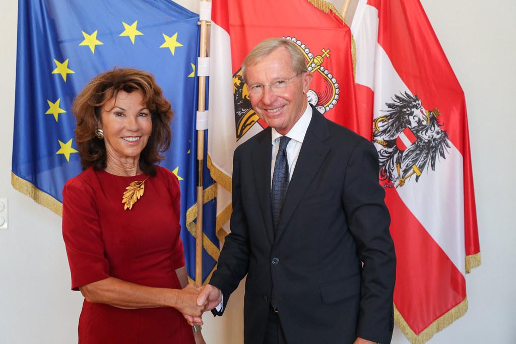 Bundeskanzlerin Brigitte Bierlein absolvierte heute ihrem ersten offiziellen Bes..