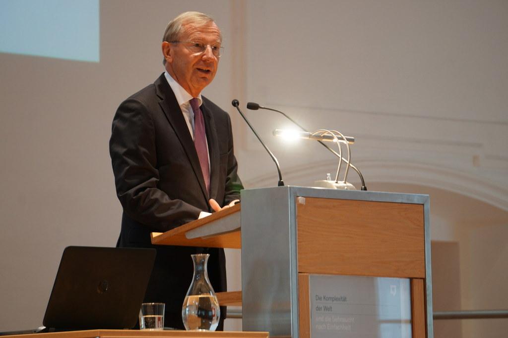 LH Wilfried Haslauer bei der Eröffnung der Salzburger Hochschulwoche 2019.