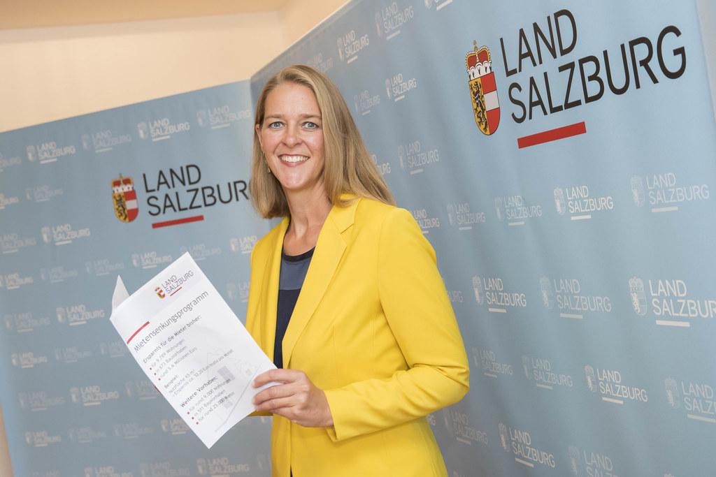 LR Andrea Klambauer: Von dieser Maßnahme profitieren rund 25.000 Salzburgerinnen..