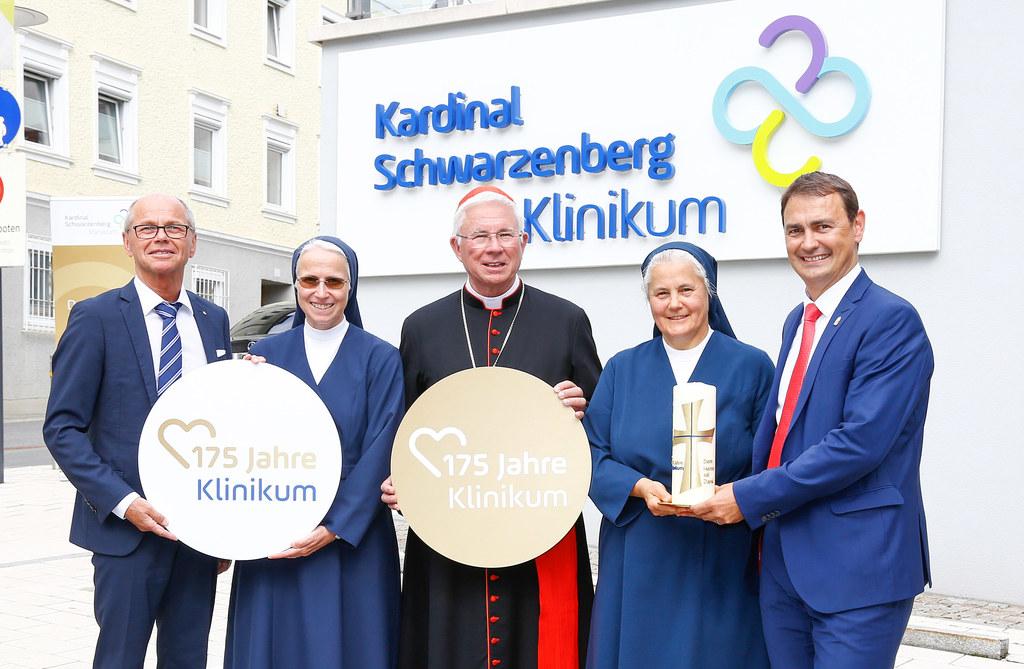 175 Jahre Kardinal Schwarzenberg Klinikum in Schwarzach: LH-Stv. Christian Stöck..