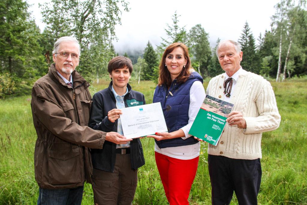 Das Schutzgebiet Wasenmoos wächst um 30 Hektar und es gibt ein neues Buch darübe..