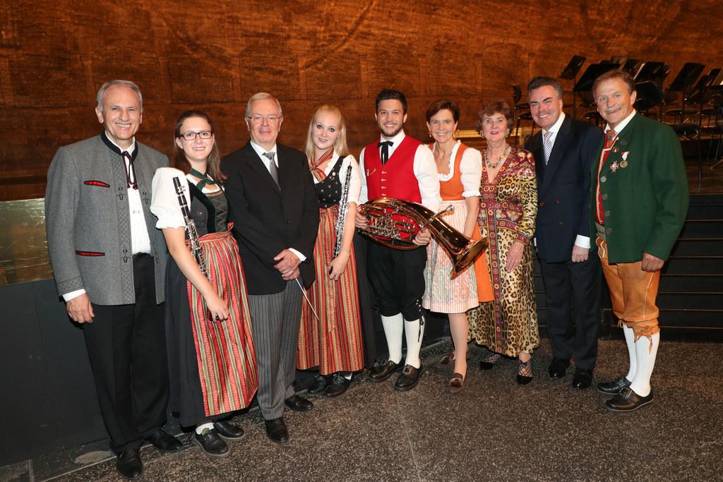 Sonderkonzert der Wiener Philharmoniker, im Bild: Wolfram Baldauf (Landesobmann ..