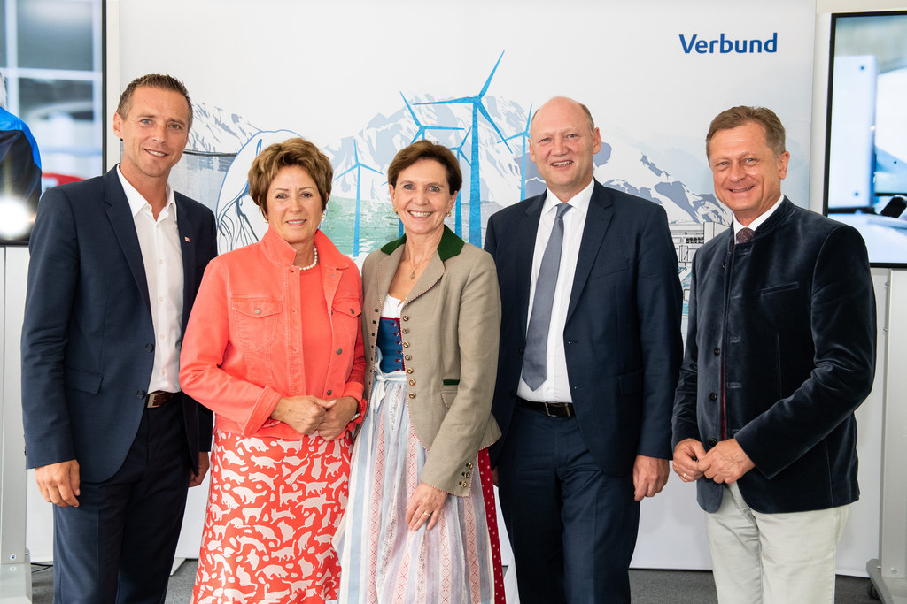 AK-Präsident Peter Eder, WK-Vizepräsidentin Andrea Maria Stifter, LTP Brigitta P..