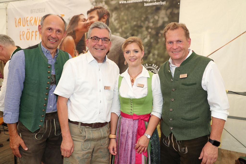 Bauernherbsteröffnung in Saalfelden, Im Bild: SLT-Geschäftsführer Leo Bauernberg..
