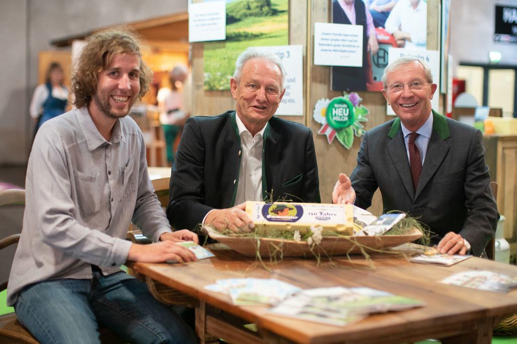 Landeshauptmann Wilfried Haslauer besucht die Messe für Nachhaltigkeit, im Bild:..