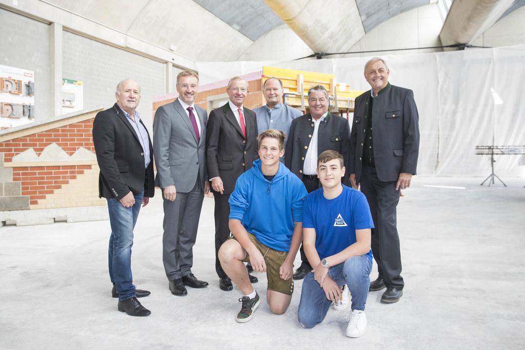 Sie zogen eine erfolgreiche Bilanz: Franz Steger, WKS-Präsident Manfred Rosensta..