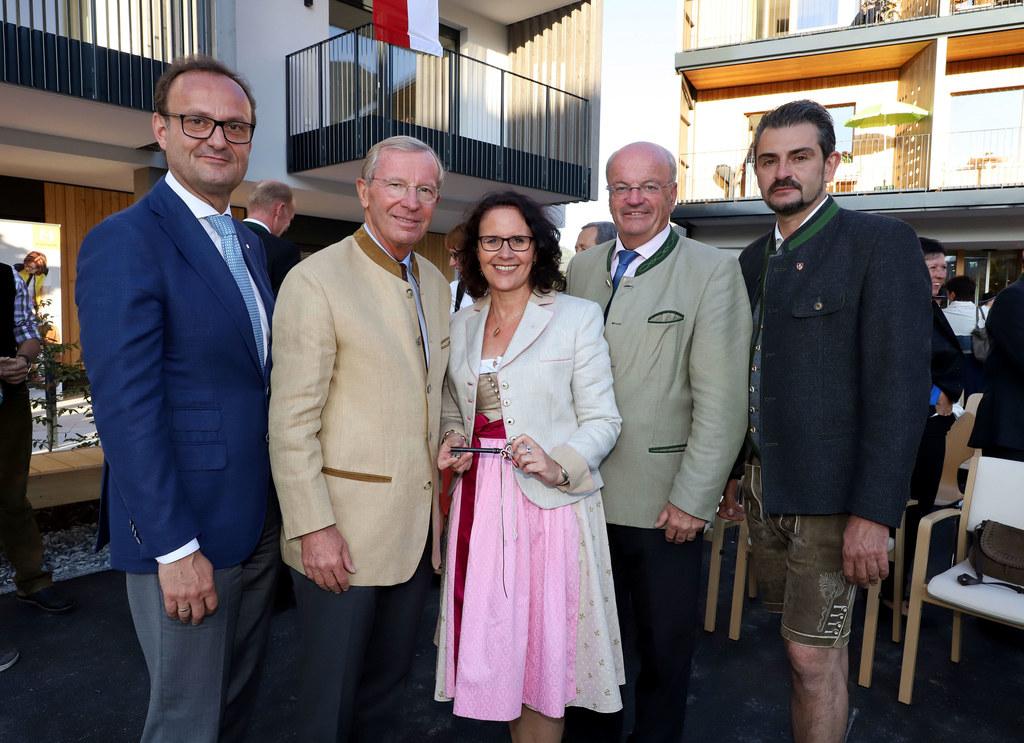 Eröffnung des neuen Seniorenwohnhauses St. Veit im Pongau, im Bild: Hermann Hagl..