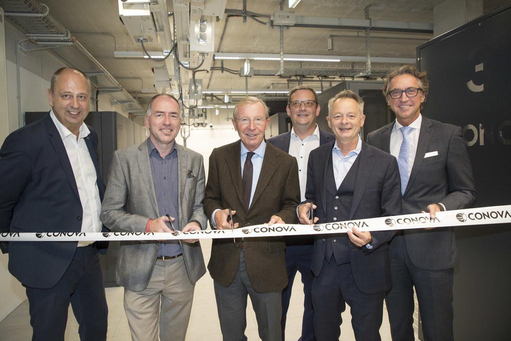 Eröffnung des neuen Rechenzentrums in Hallein, im Bild: Robert Ulm (GF Hello Ban..