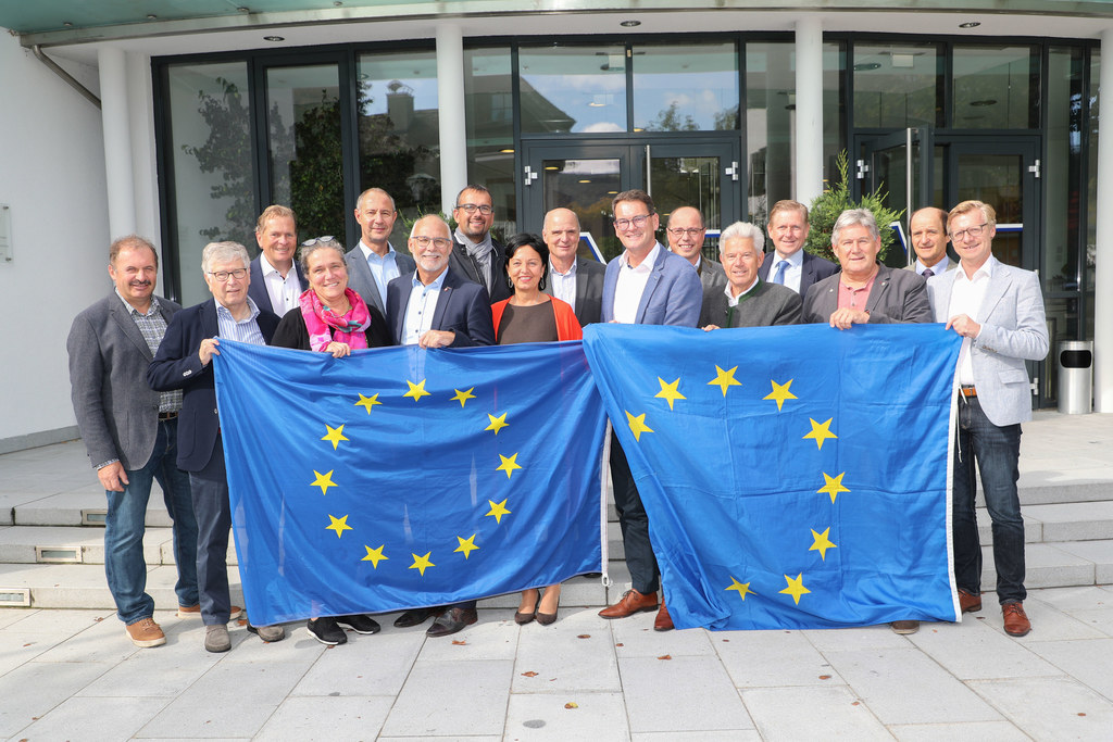 Bürgermeister aus allen Bezirken arbeiten an den EU-Förderungen von morgen mit.