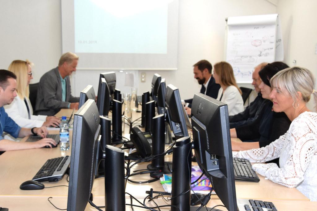 Das Projektteam hat die Umstellung des Sozialen Informationssystems erfolgreich ..
