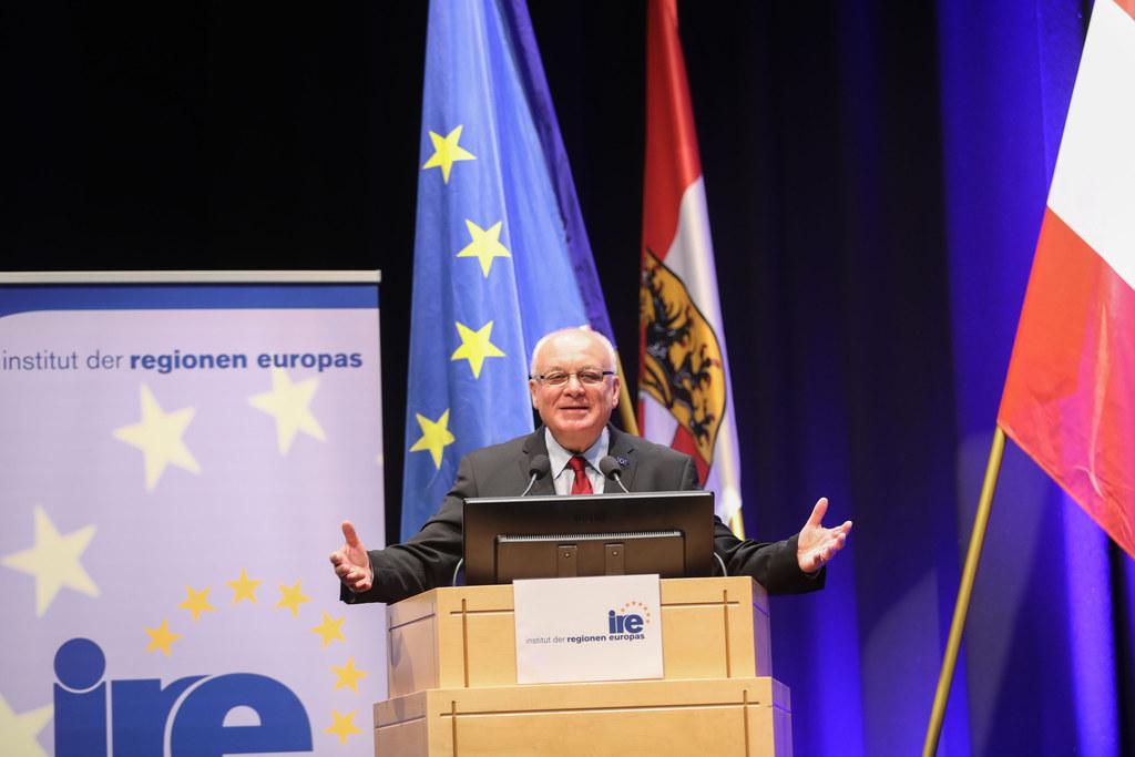 Franz Schausberger erwartet heuer mehr als 500 Teilnehmer bei der Konferenz Euro..