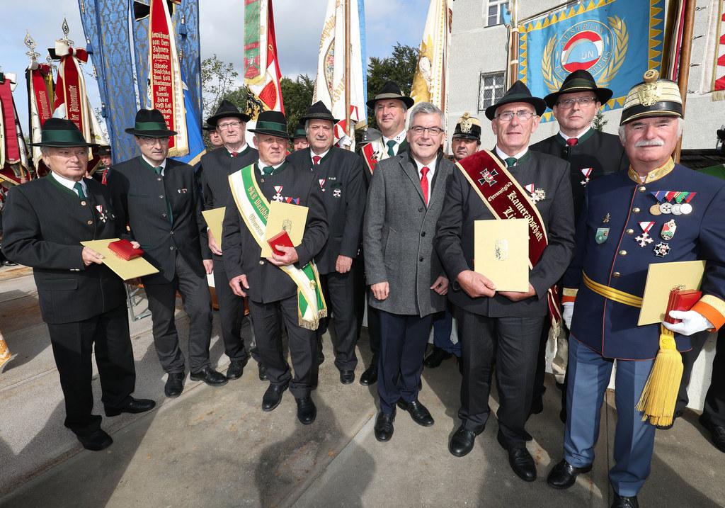 Friedenswallfahrt des Salzburger Kameradschaftsbundes in Maria Plain: LR Josef S..
