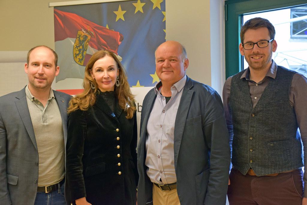 Drei Pinzgauer Bürgermeister holten sich in Brüssel EU-Infos aus erster Hand. V...
