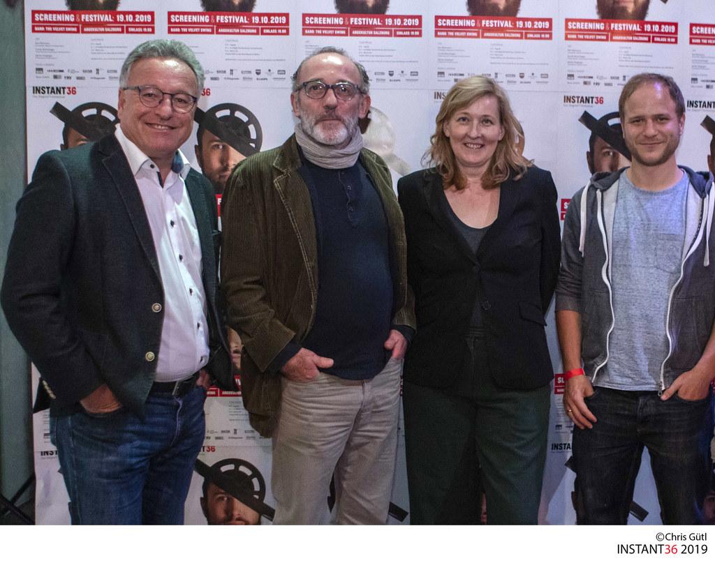 LH-Stv. Heinrich Schellhorn traf die Jury des Filmfestivals INSTANT36 in der ARG..