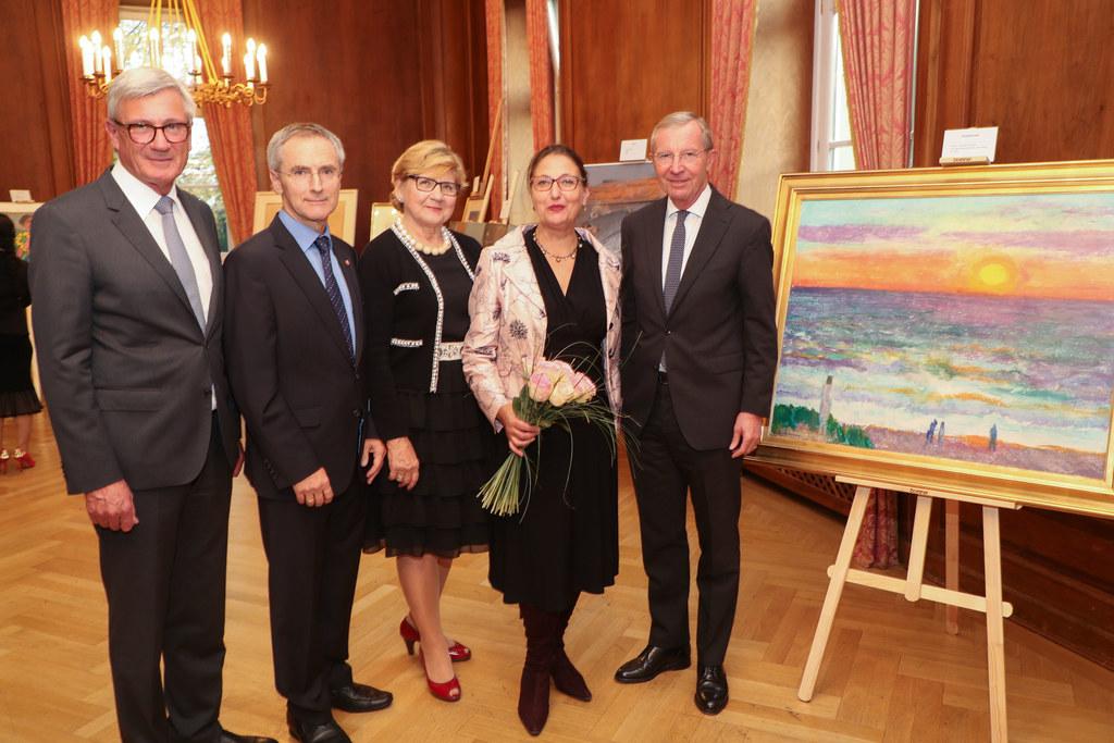 Eine Ausstellung zu 50 Jahre Konsularisches Korps Salzburg wurde im Kavalierhaus..