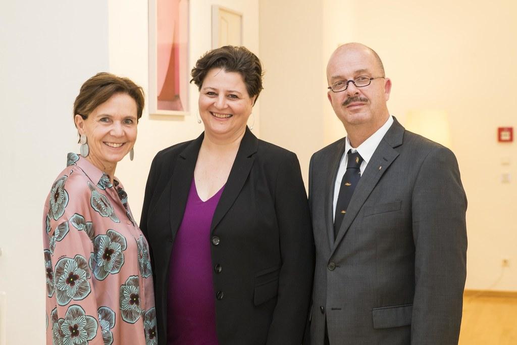 Eröffneten in der Neuen Residenz gemeinsam den 40. österreichischen Archivtag:  ..
