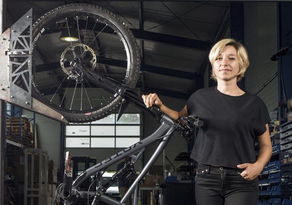 Tanja Friedrich aus Salzburg hat den Bikeparker entwickelt und bekommt Starthilfe für ihr junges Unternehmen.