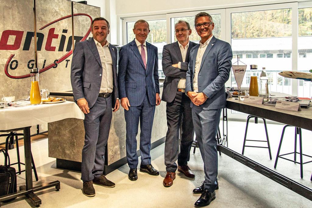 Punktgenaue Lieferungen - in Bergheim wurde die neue Firmenzentrale von Ontime L..