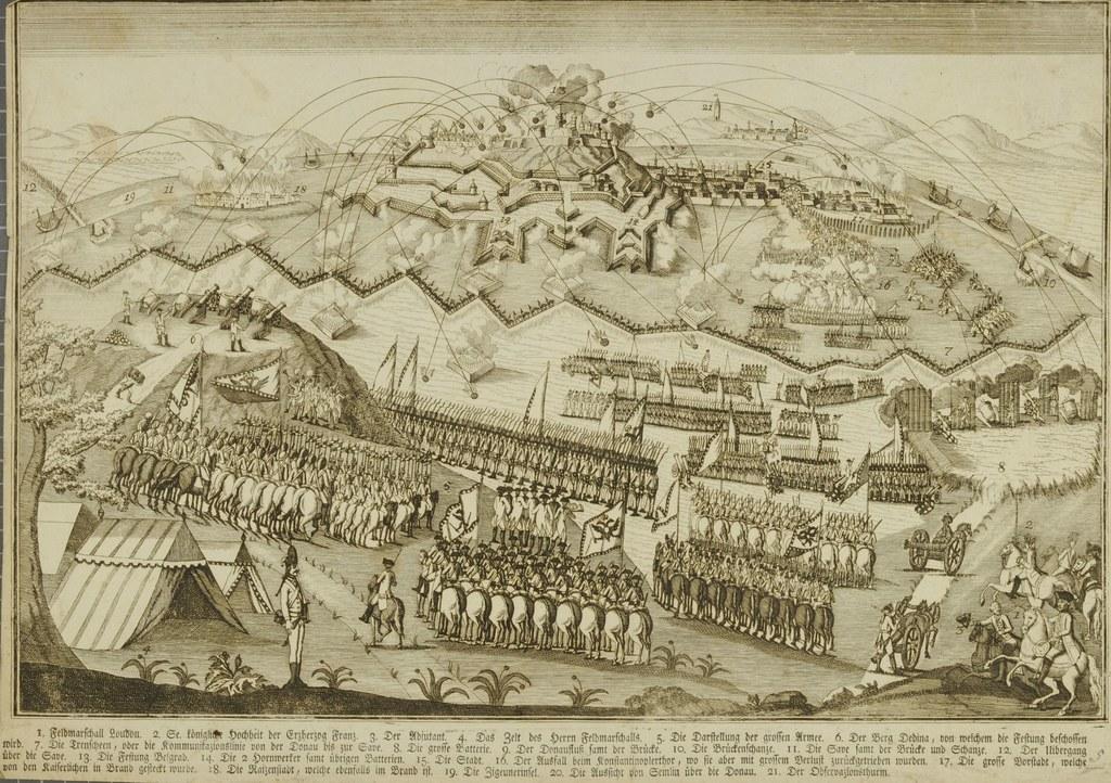 An der Belagerung von Belgrad durch die Österreicher im Jahre 1789 nahmen auch S..