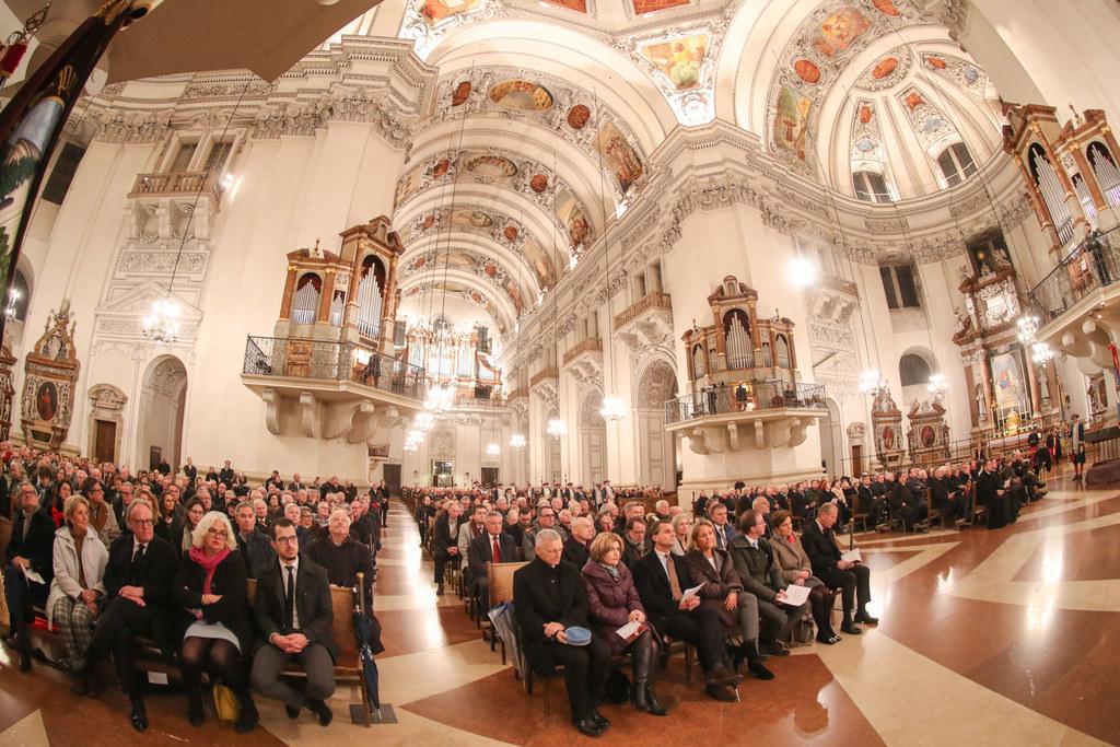 Prominent besucht war der Festakt zu 400 Jahren Fürsterzbischof Paris Lodron im ..
