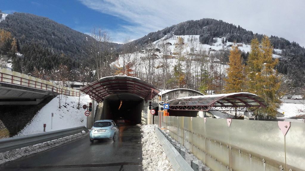 Der Schmittentunnel bekommt eine neue Lüftung und ist daher von 27. November bis..