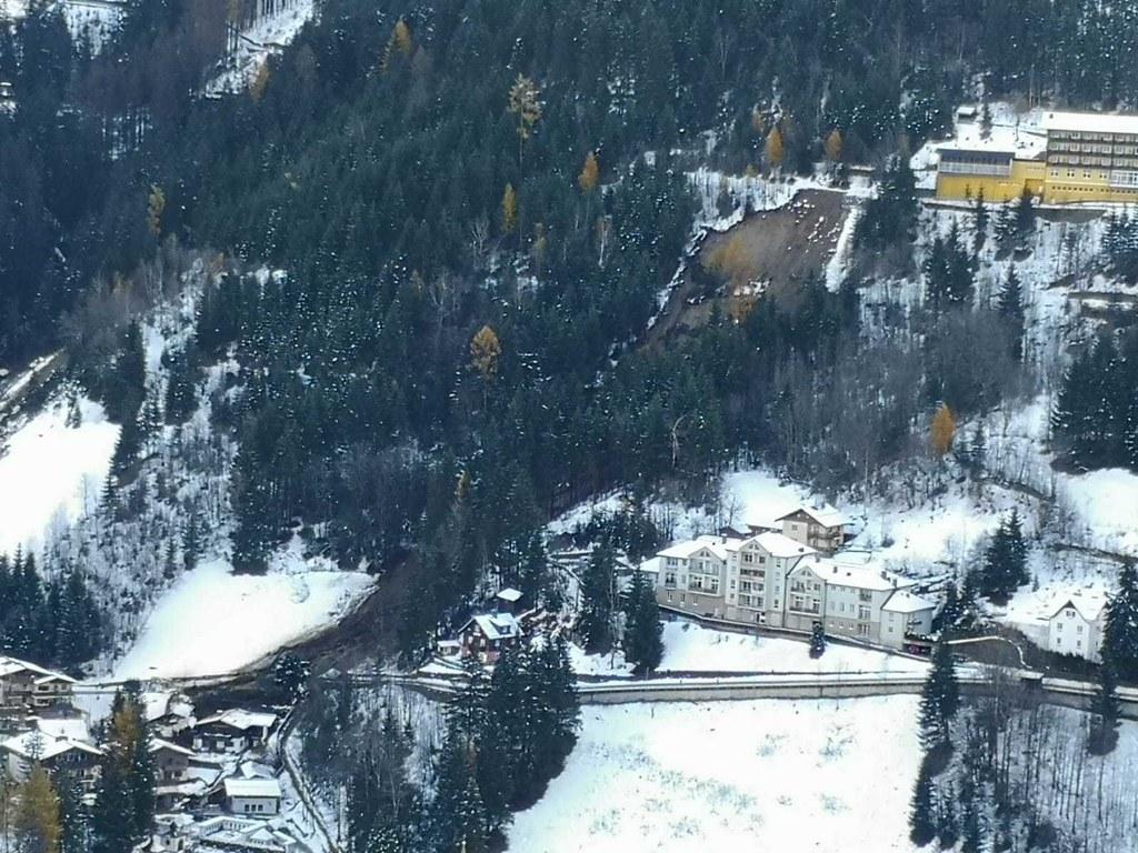 Die Gefahr von Murenabgängen, wie hier in Bad Gastein, bleibt in den südlichen Landesteilen nach wie vor sehr hoch.